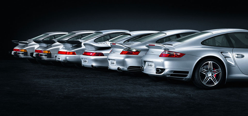Porsche 911 Design Evolution
