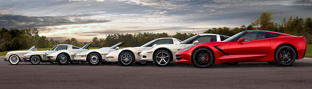 Chevrolet Corvette Design Evolution