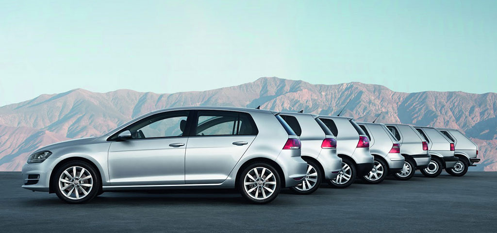 Volkswagen Golf Design Evolution